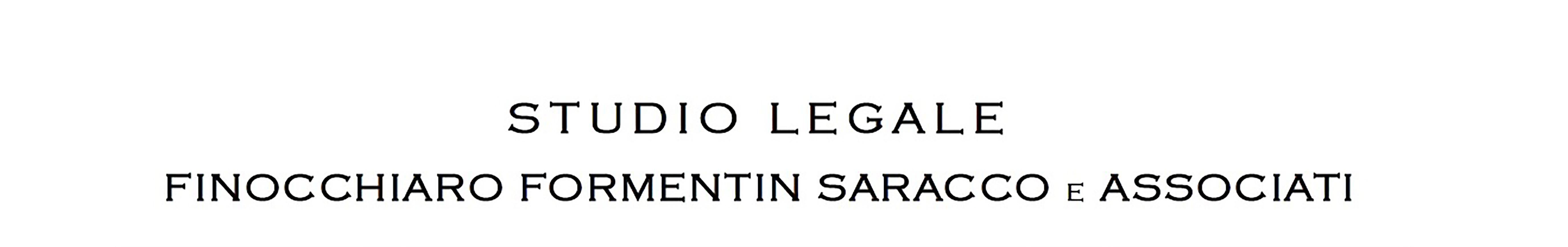 Studio Legale Finocchiaro Formentin Saracco